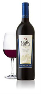Gallo Family Vineyards Merlot 750ml - Case of 12